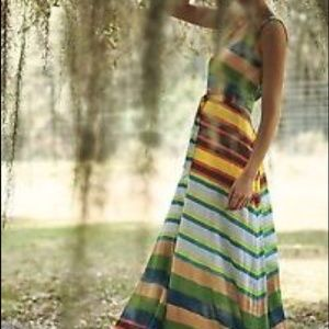 Anthropologie Plenty Tracy Reese Spectrum Dress SM